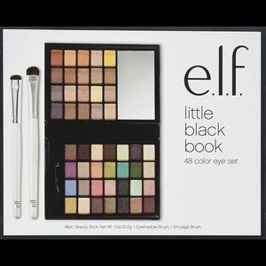 BNIB elf eye shadow and brush set